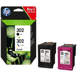HP 302-pack 2 cartuchos negro+color   X4D37AE