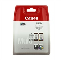 CANON PG-545 -CL-546 pack 2 cartucho tinta (8287B005)