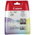 Canon Pack 2 cartuchos PG-510 y CL-511  2970B010