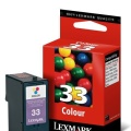 Cartucho Lexmark 33 color (18CX033E)