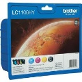 Brother LC1100HY Value pack 4 cartuchos