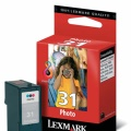 Lexmark Cartucho tinta 31 foto photo (18C0031E)