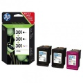 Multipack HP 301 2xnegro + 1xcolor  E5Y87EE
