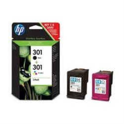 HP Pack cartuchos 301 Negro y color N9J72AE
