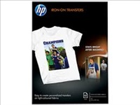HP papel transferencia termica camiseta A4 170gr 12 hojas