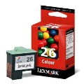 Cartucho Lexmark 26 color (10N0026E)
